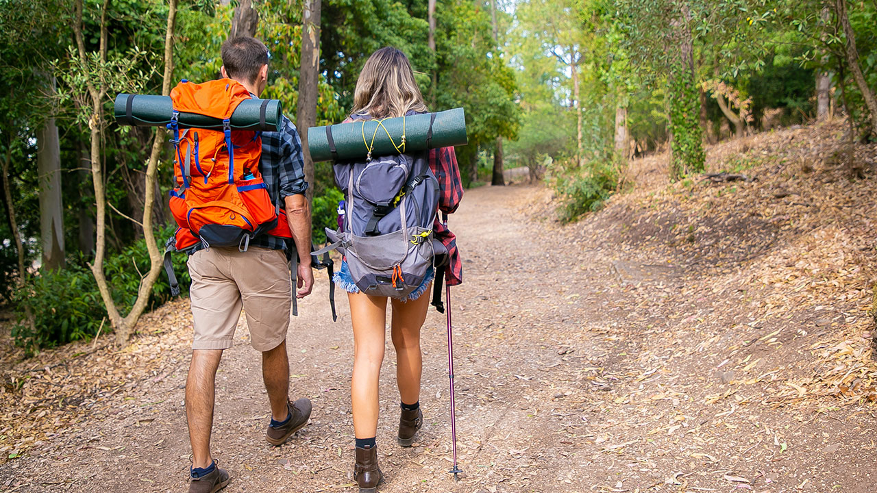 Take a Hike! With a Hanger and the Other Right Hiking Gear, of Course